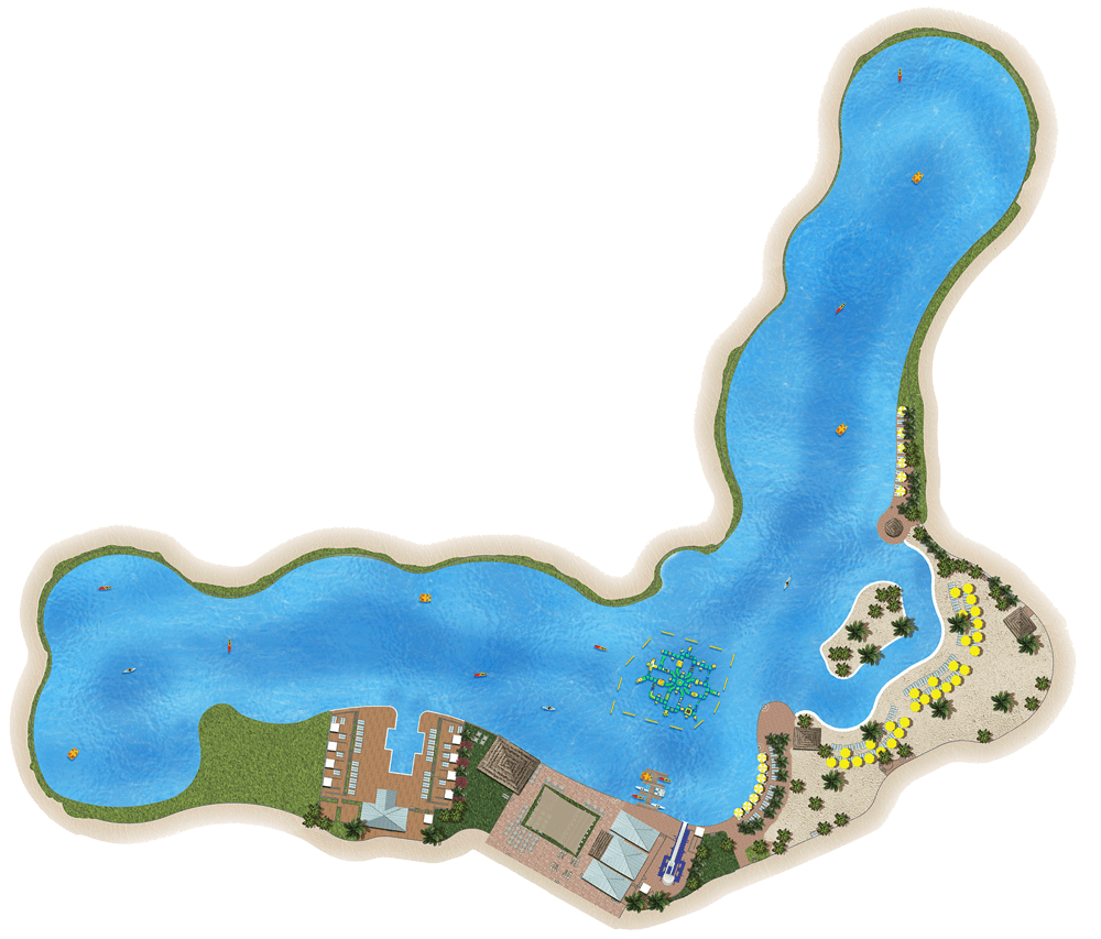Epperson Lagoon map